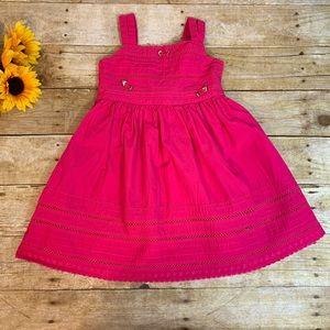 Girls pink dress by Blueberi Boulevard. Size 5
